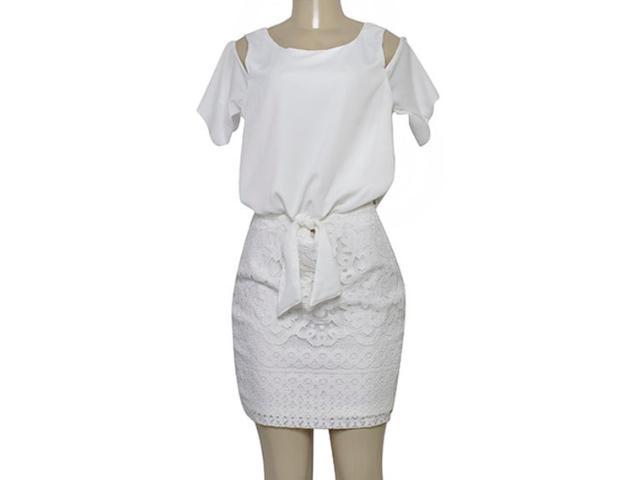 Vestido Feminino Lado Avesso 104499 Off White