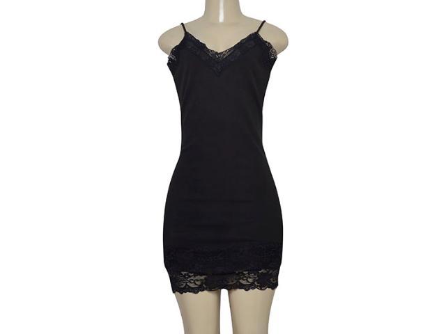 Vestido Feminino Lado Avesso 105669p Preto
