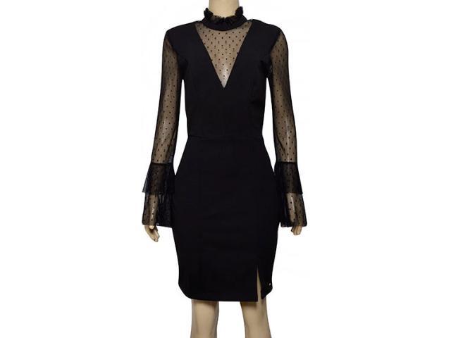 Vestido Feminino Lado Avesso 105631 Preto