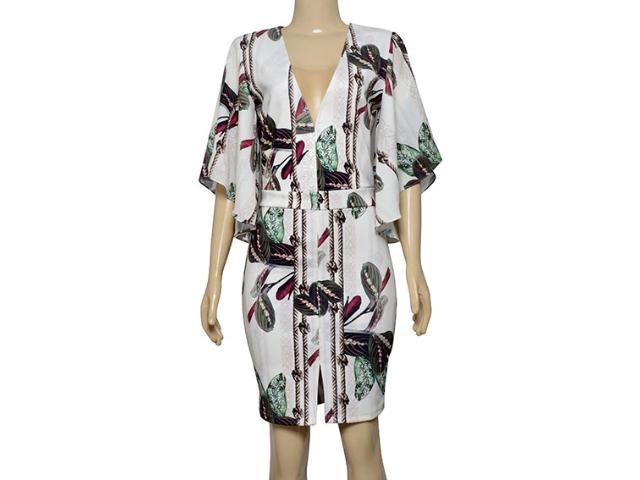 Vestido Feminino Lado Avesso 105651 Off White Estampado