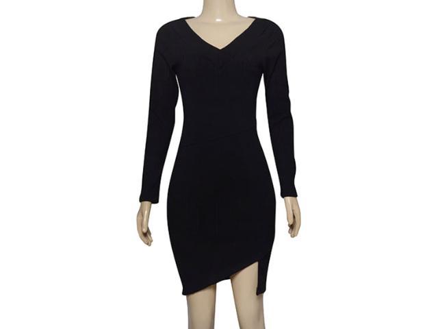 Vestido Feminino Lado Avesso 101623 Preto
