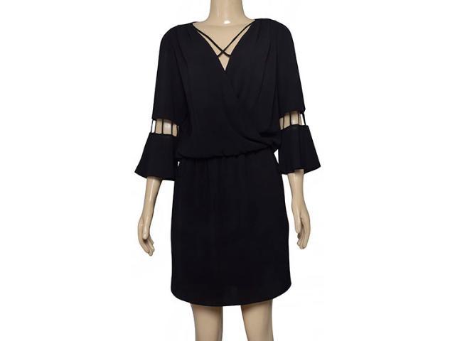 Vestido Feminino Lado Avesso 102545 Preto