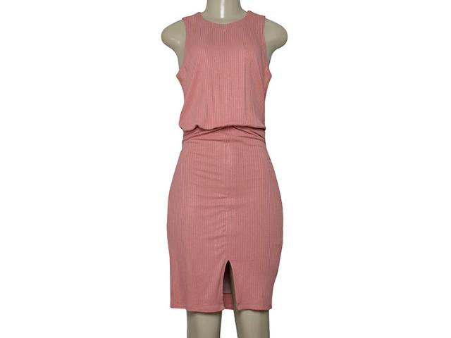 Vestido Feminino Lado Avesso 102535 Rosa