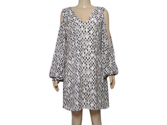 Vestido Feminino Lafort E17l247 Estampado Areia/preto