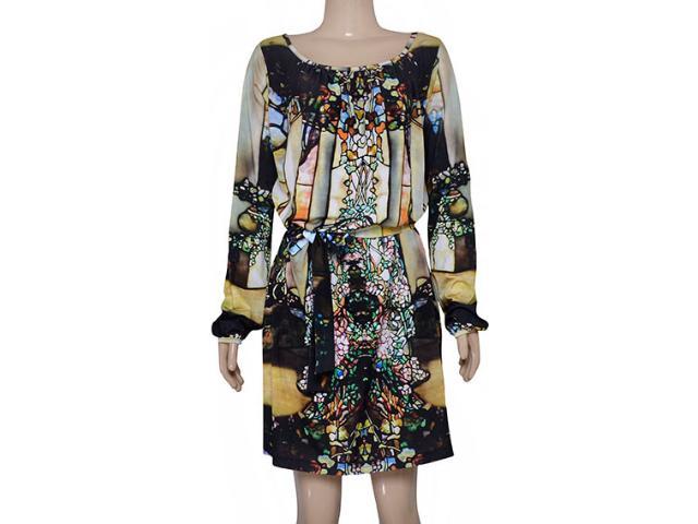 Vestido Feminino Lix Vem151 Estampada