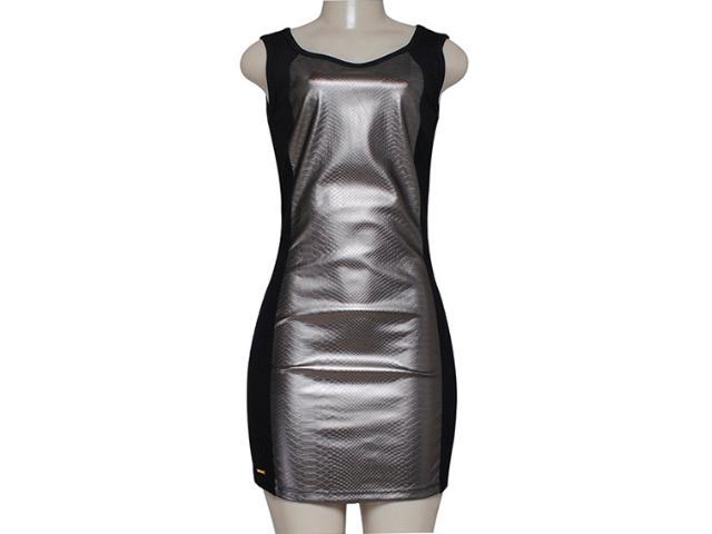 Vestido Feminino M.officer 115908007 Preto/cobre