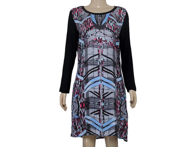 Vestido Feminino Margo 14151 Estampada