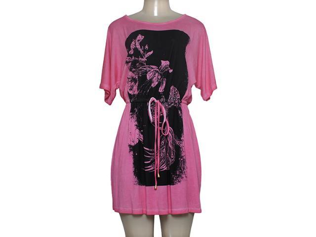 Vestido Feminino Margo 14205 Rosa/marrom