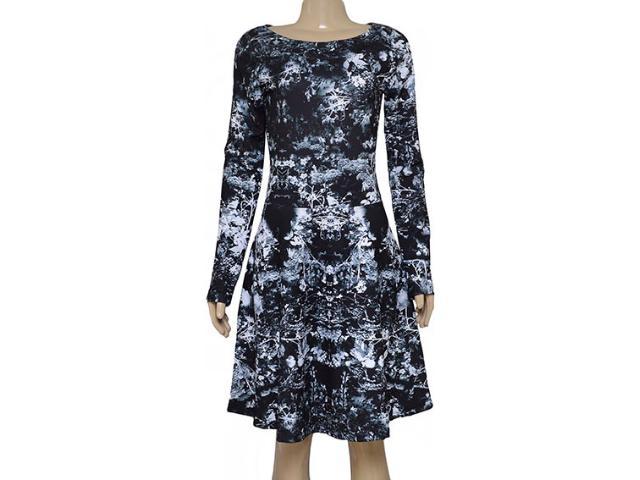 Vestido Feminino Margo 14159 Preto/branco