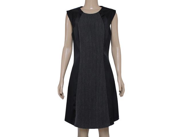 Vestido Feminino Maria Valentina 103015 Preto