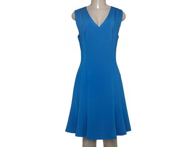 Vestido Feminino Maria Valentina 103403 Azul