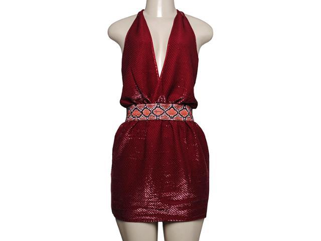 Vestido Feminino Moikana 6052 Vermelho