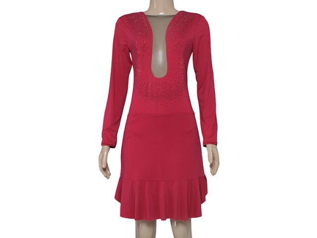 Vestido Feminino Moikana 150163 Vermelho