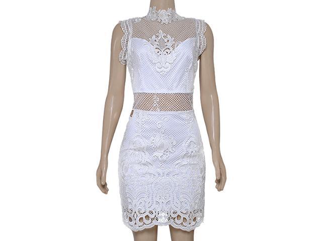 Vestido Feminino Moikana 16010 Off White