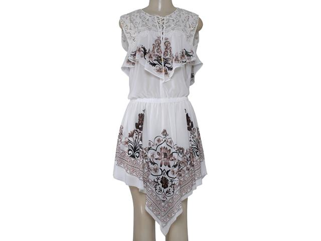 Vestido Feminino Moikana 16093 Off White