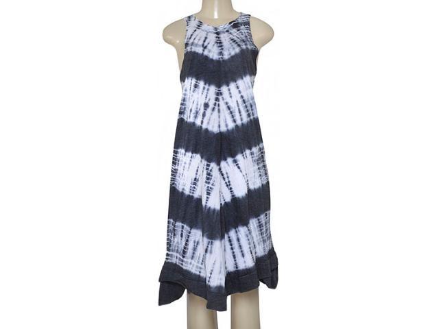 Vestido Feminino Moikana 160135 Branco/preto