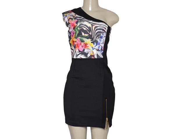 Vestido Feminino Moikana 11035 Zebra/floral