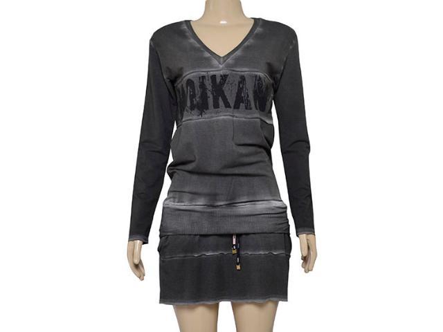 Vestido Feminino Moikana 180053 Preto
