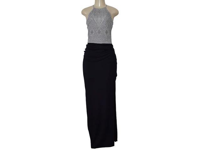 Vestido Feminino Moikana 210151 Preto/mescla
