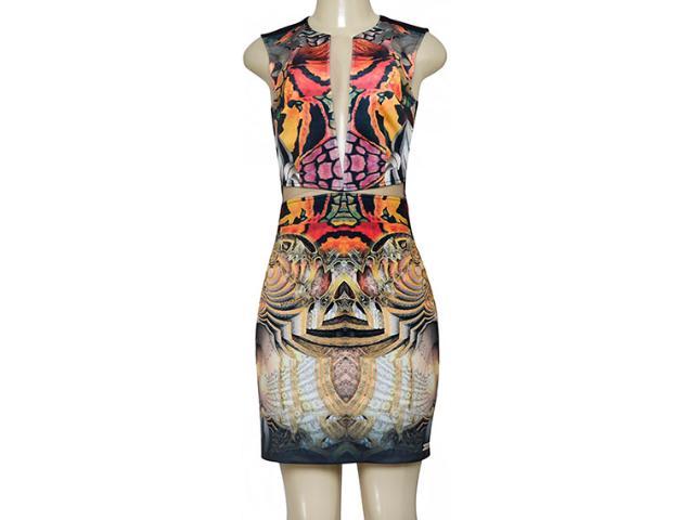 Vestido Feminino Moikana 180069 Preto Color