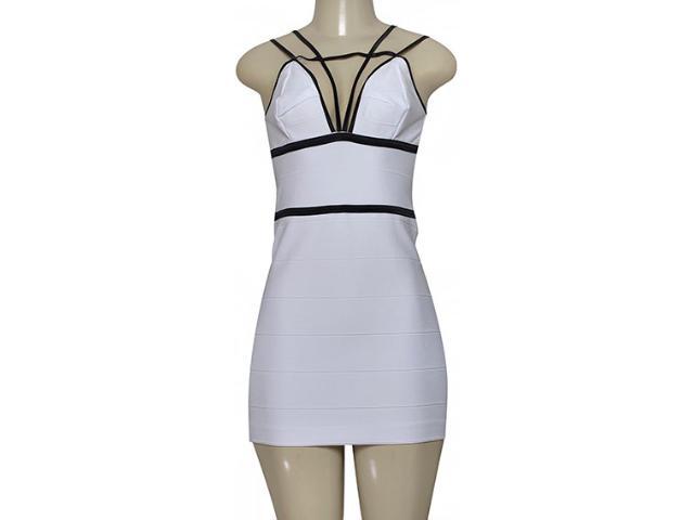 Vestido Feminino Moikana 190082 Branco
