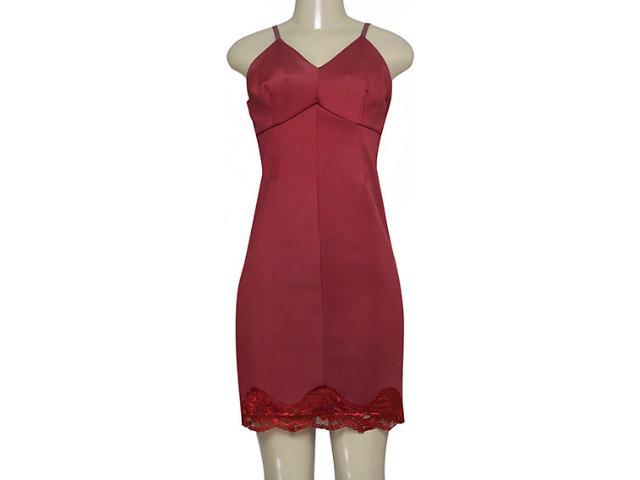 Vestido Feminino Moikana 180141 Bordo