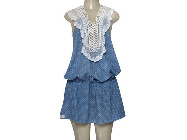 Vestido Feminino Moikana 4069 Azul