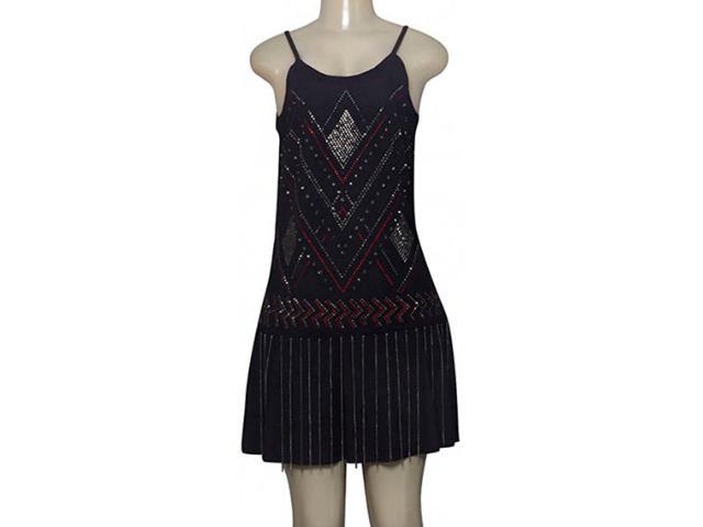 Vestido Feminino Moikana 210113 Preto