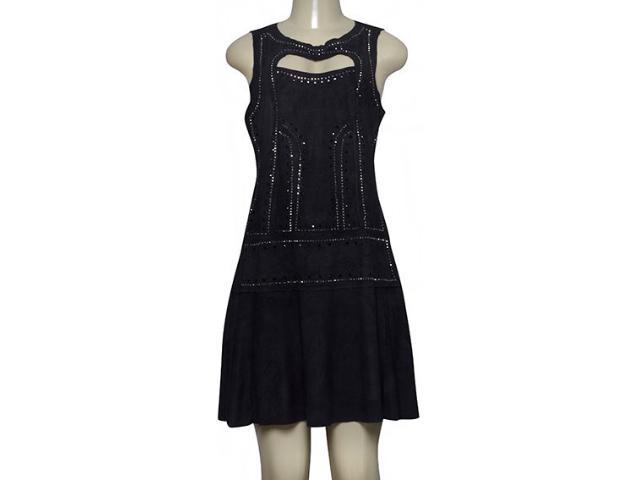 Vestido Feminino Moikana 210087 Preto