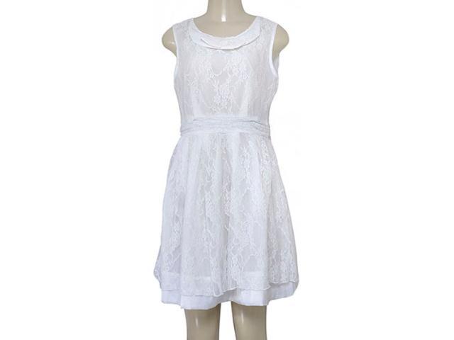 Vestido Feminino Mooncity 230010 Branco