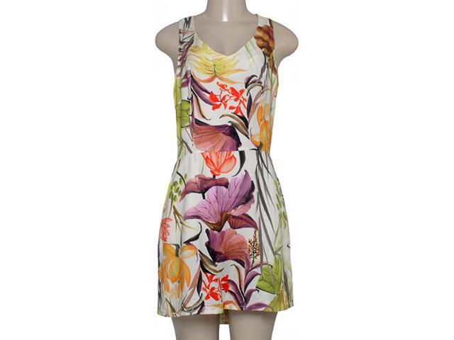Vestido Feminino Morena Rosa 202171 Off White Estampado