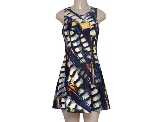 Vestido Feminino Morena Rosa 104641 Estampado