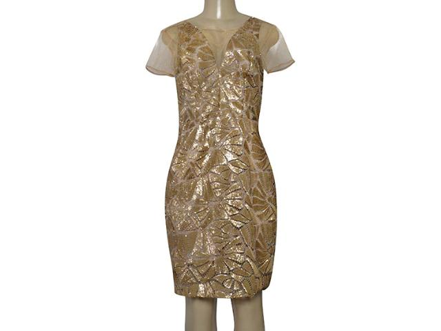 Vestido Feminino Morena Rosa 105323 Dourado