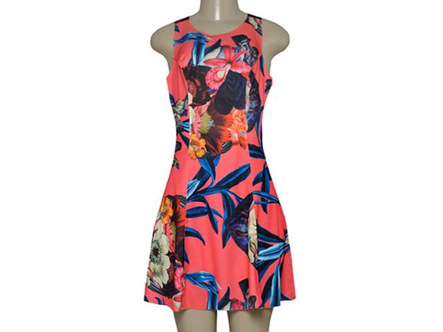Vestido Feminino Morena Rosa 105215 Estampado