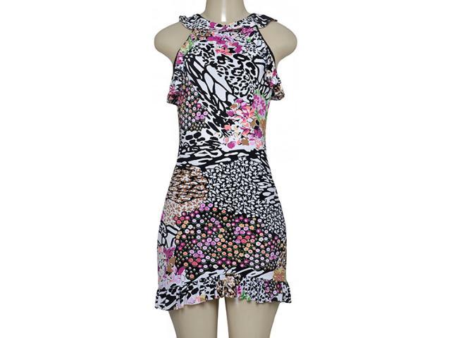 Vestido Feminino Sta Justina 2063 Estampada