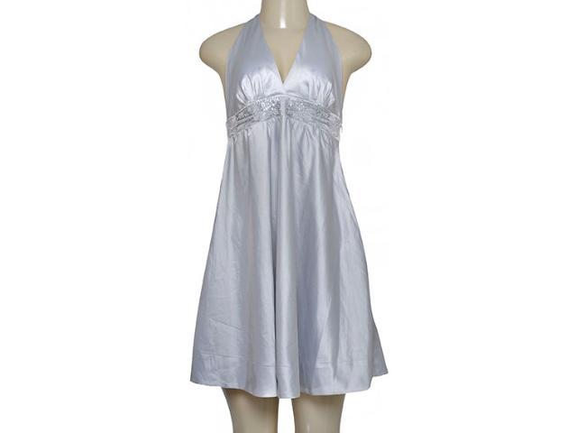 Vestido Feminino Tan Tan 3.15952 Prata