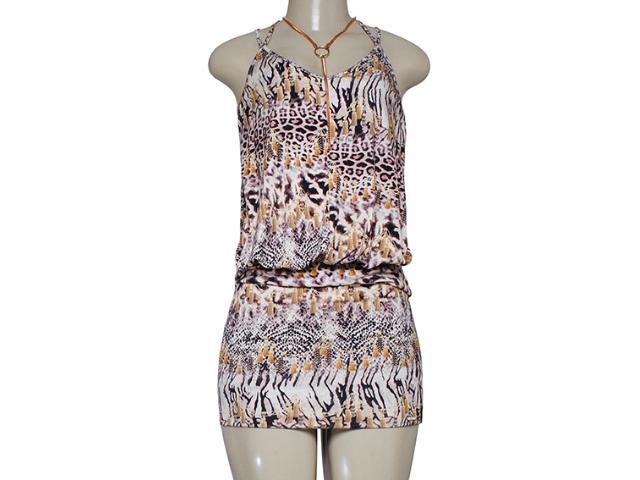 Vestido Feminino Triton 441402855 Onça