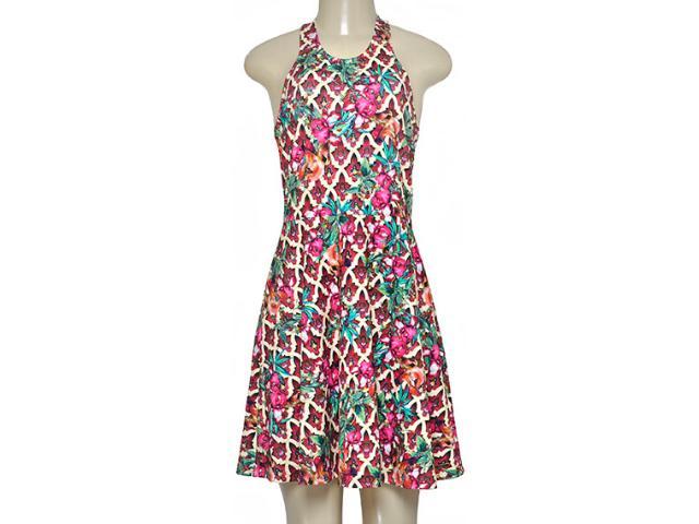 Vestido Feminino Triton 441403259 Pink Estampado