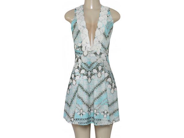 Vestido Feminino Triton 441403341 Bege Estampado