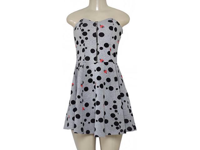 Vestido Feminino Triton 441400902 Cinza