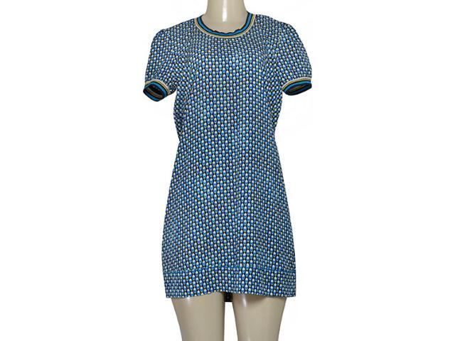 Vestido Feminino Triton 441403606 Var36 Azul Estampado