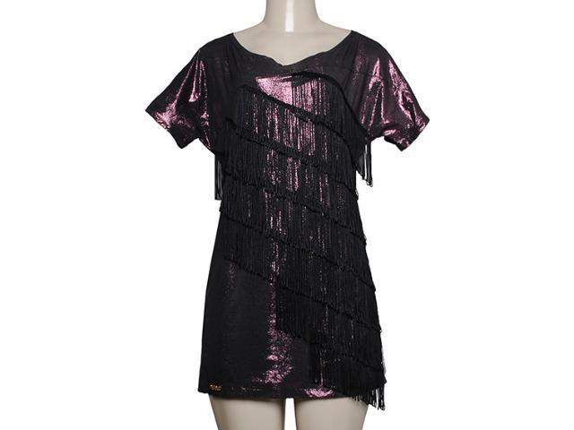 Vestido Feminino y Exx 18669 Preto / Vinho