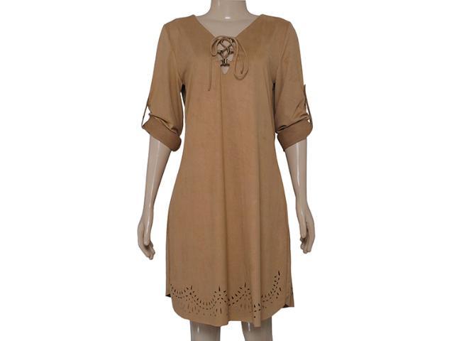 Vestido Feminino Zinco 103043 Marrom