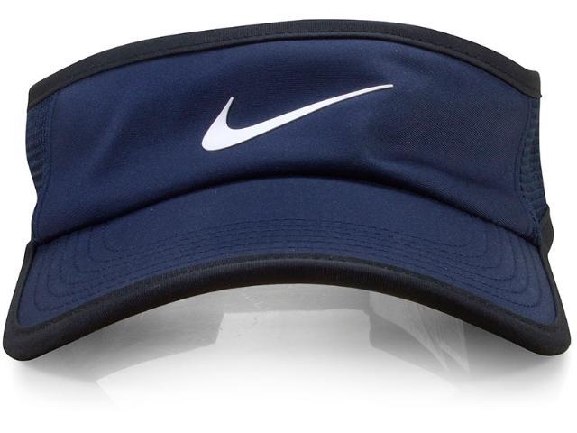 Viseira Unisex Nike 899654-451 nk Arobil Fthrlt Preto/marinho