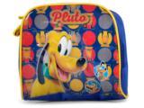 Lancheira Masc Infantil Luxcel La32044 pt Pluto Azul/amarelo