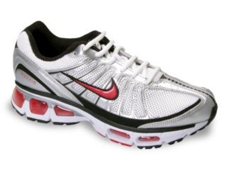 Tênis Masculino Nike Air Max Tailwind 344758-161 Prata/verm - Tamanho Médio