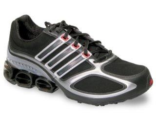 Tênis Masculino Adidas Megabounce Dlx 353071 Preto/cinza - Tamanho Médio