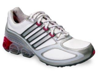 Tênis Feminino Adidas Megabounce Dlx 353139 Branco/cinza - Tamanho Médio