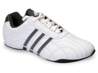 6808365d5c Tênis Masculino Adidas Kundo Stripes 515428 Branco preto. 1. 2