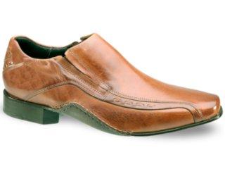 Sapato Masculino Ferracini 3450 Tabaco - Tamanho Médio